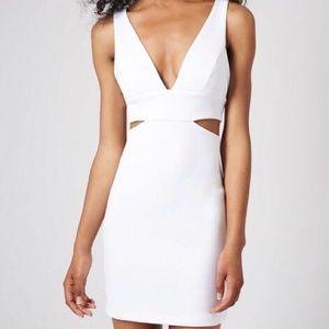Topshop Mini Cutout Bodycon Dress 6 M